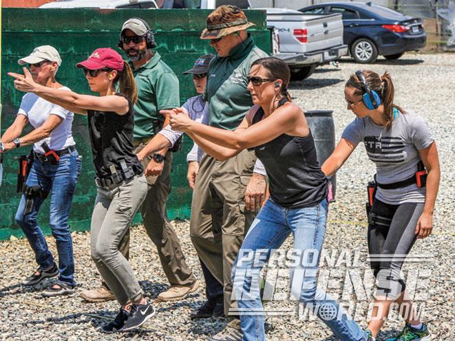 Firearms Training Associates, Firearms Training Associates Ladies Pistol & Self-Defense Course, Ladies Pistol & Self-Defense Course, shooting on the move