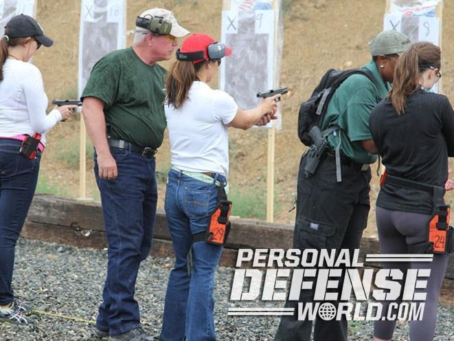 Firearms Training Associates, Firearms Training Associates Ladies Pistol & Self-Defense Course, Ladies Pistol & Self-Defense Course, gun test