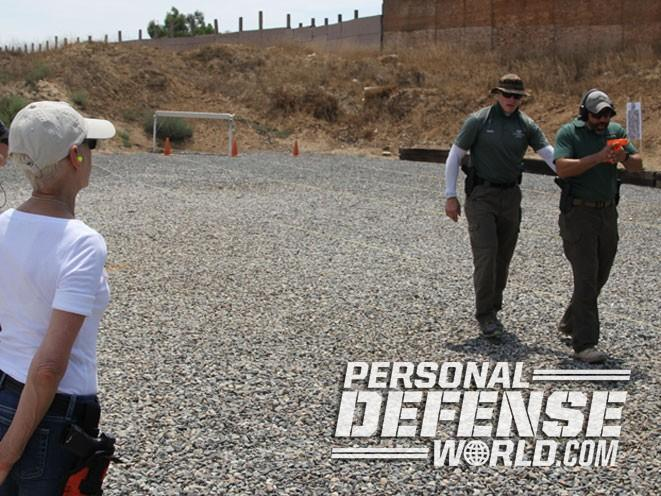 Firearms Training Associates, Firearms Training Associates Ladies Pistol & Self-Defense Course, Ladies Pistol & Self-Defense Course, shooting demo