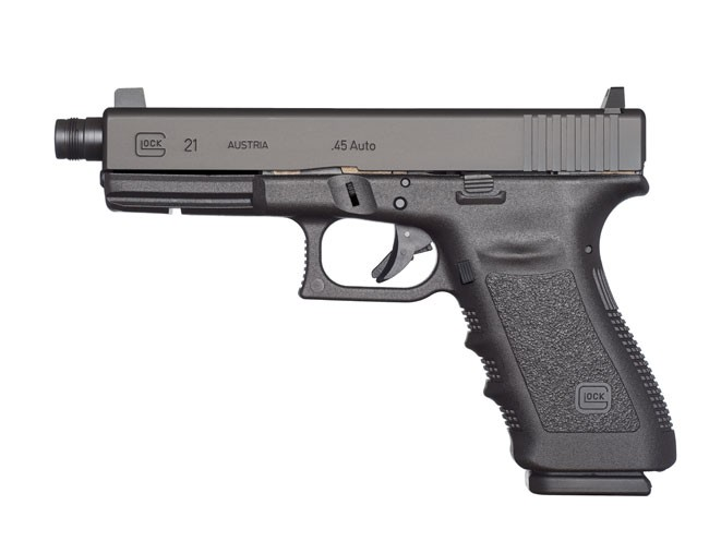 pistols, pistol, full-size pistol, full-size pistols, full-sized pistol, full-sized pistols, Glock 21 SF