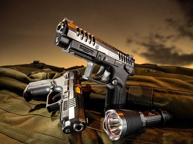 pistols, pistol, full-size pistol, full-size pistols, full-sized pistol, full-sized pistols, Grand Power K100 X-Trim MK12