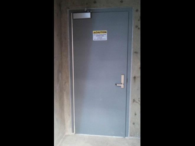 guardian security structures, Pre-Engineered Blast Door Model