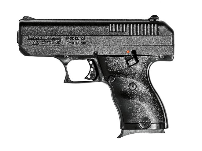 pistol, pistols, compact handgun, compact handguns, Hi-Point C9