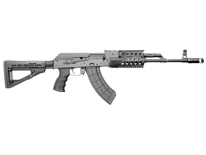 rifle, rifles, autoloader, autoloading rifle, autoloading rifles, KALASHNIKOV USA US132SS CARBINE WITH SKELETIONIZED STOCK