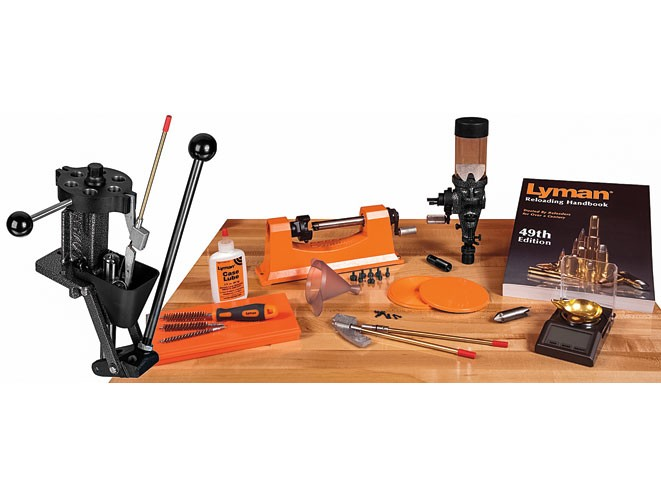 reloading, reload, ammo, ammunition, reloading accessories, reloading equipment, reloader, Lyman Deluxe T-Mag Expert Kit