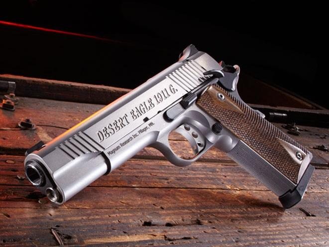 pistols, pistol, full-size pistol, full-size pistols, full-sized pistol, full-sized pistols, Magnum Research Desert Eagle 1911 GSS