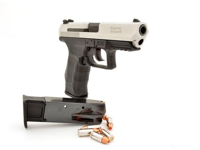 pistols, pistol, full-size pistol, full-size pistols, full-sized pistol, full-sized pistols, Magnum Research MR9 Eagle