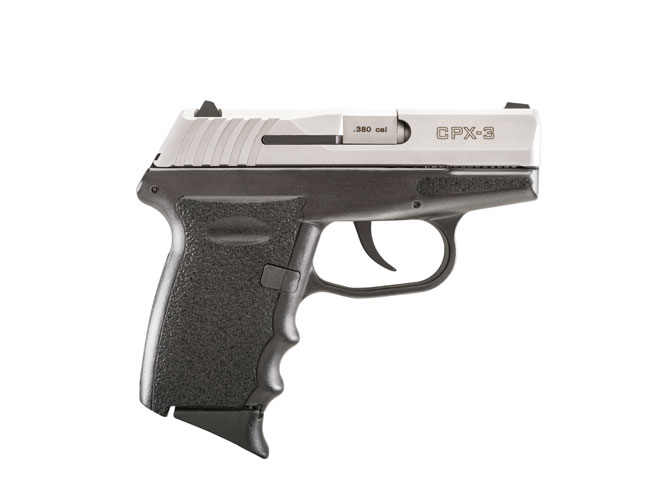SCCY CPX-3, cpx-3, SCCY, CPX-3 duo-tone pistol