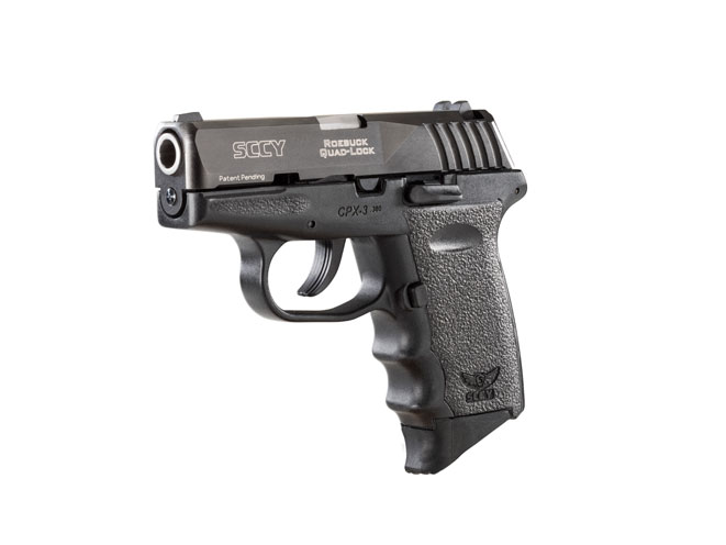 SCCY CPX-3, cpx-3, SCCY, CPX-3 black gun
