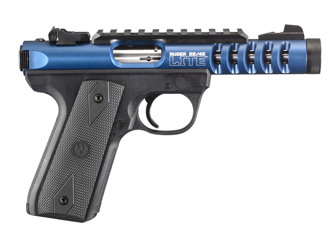 pistols, pistol, full-size pistol, full-size pistols, full-sized pistol, full-sized pistols, Ruger 22/45 Lite