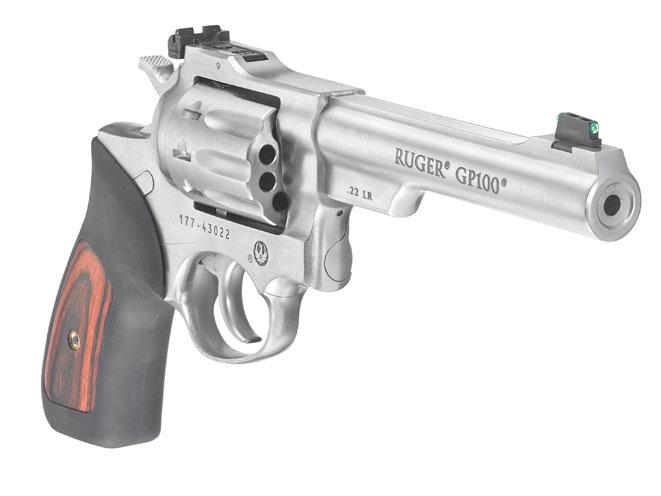 Ruger GP100 .22 LR, ruger, ruger GP100, ruger GP100 revolver, ruger gp100 match champion