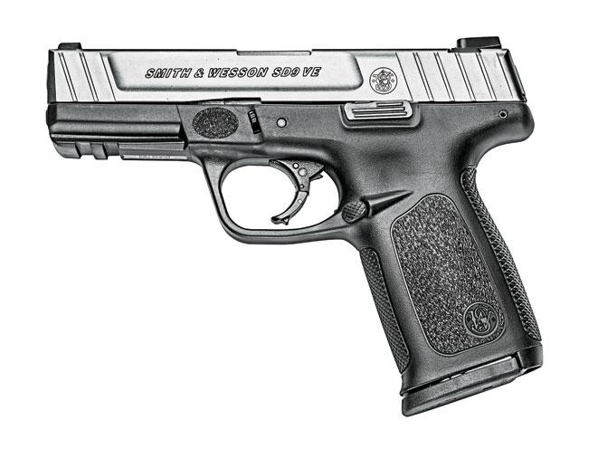 pistol, pistols, compact handgun, compact handguns, Smith & Wesson SD9 VE