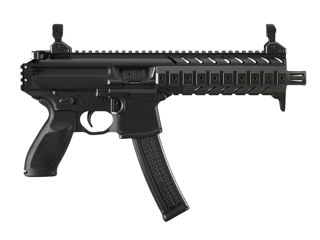 pistols, pistol, full-size pistol, full-size pistols, full-sized pistol, full-sized pistols, Sig Sauer MPX-P 9mm