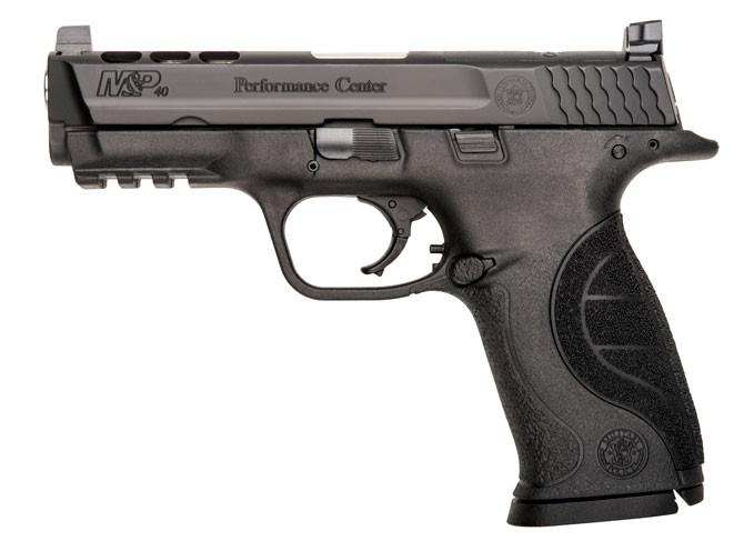 pistols, pistol, full-size pistol, full-size pistols, full-sized pistol, full-sized pistols, Smith & Wesson M&P40 PC Ported .40
