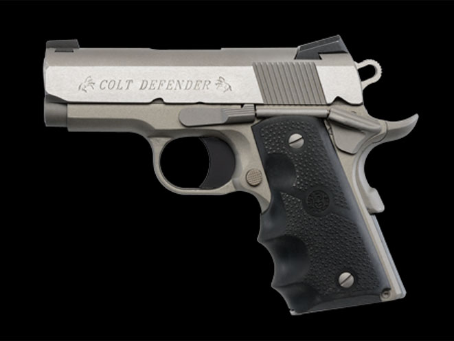 autopistol, autopistols, pistol, pistols, COLT DEFENDER