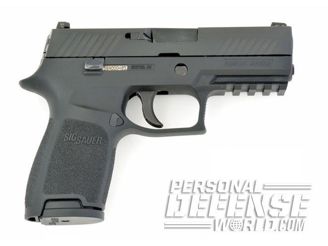 pistol, pistols, compact pistol, compact pistols, pocket pistol, pocket pistols, Sig Sauer P320 Carry