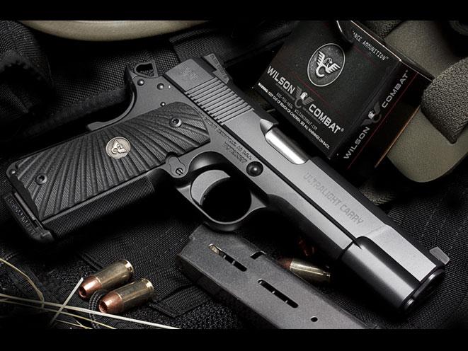 autopistol, autopistols, pistol, pistols, WILSON COMBAT ULTRALIGHT CARRY