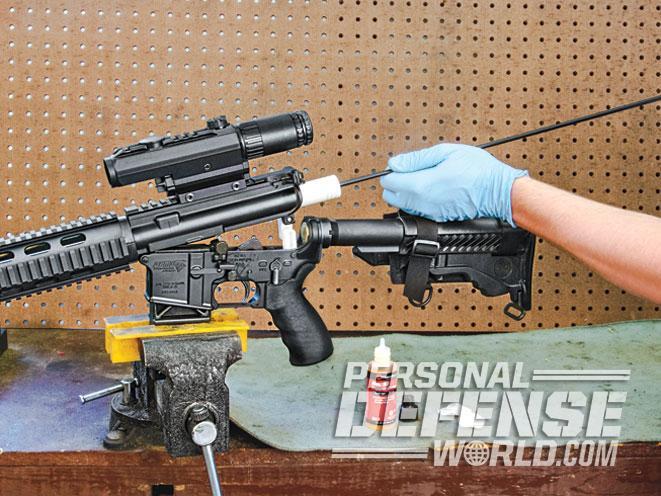 rifle, rifles, rifle bore, rifle bores, rifle barrel, rifle barrels, bore brush