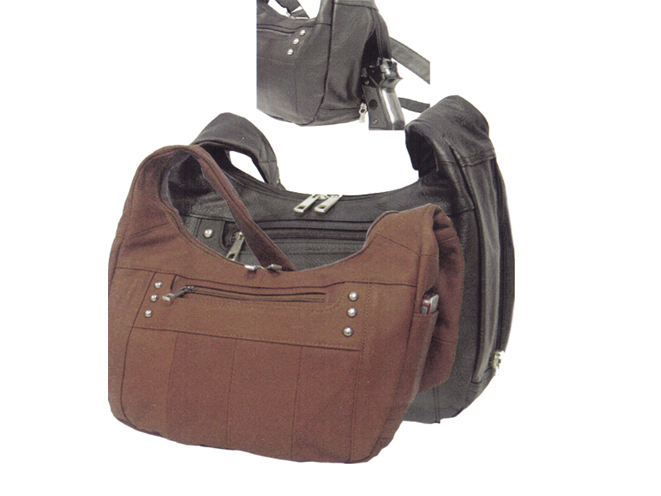 everyday carry, edc, edc kit, everyday carry kit, Roma Leathers Concealment Purse 7086