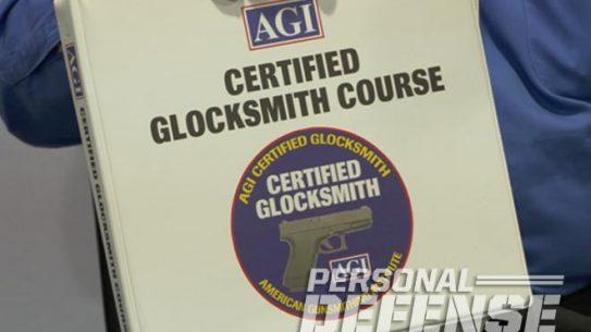 American Gunsmithing Institute, agi, glocksmith course