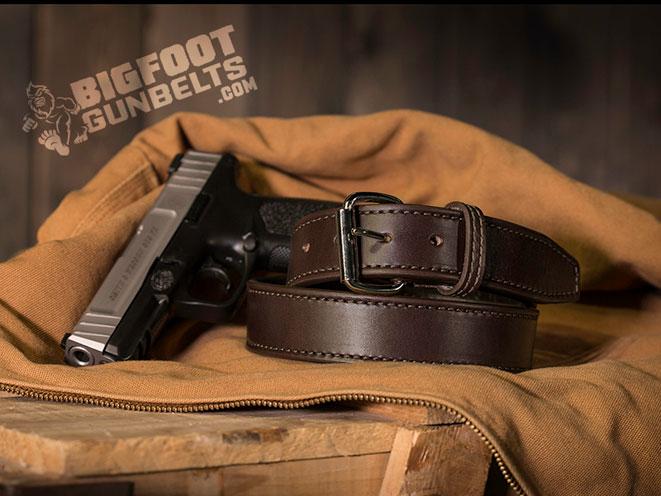 Bigfoot Gun Belts, Bigfoot Gun Belt, gun belt, gun belts, belts