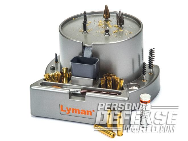 cartridge, cartridge case, cartridge cases, lyman case prep press, reloading tool