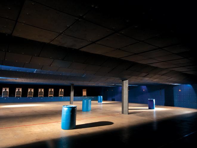 Colonial Shooting Academy, Colonial Shooting Academy range, indoor range