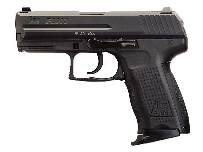 autopistol, autopistols, pistol, pistols, concealed carry pistol, pocket pistol, HECKLER & KOCH P2000/P2000SK
