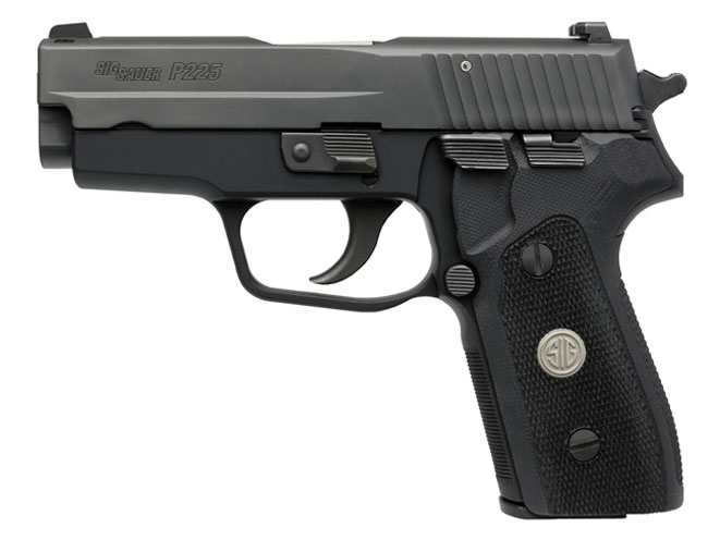 autopistol, autopistols, pistol, pistols, concealed carry pistol, pocket pistol, SIG SAUER P225-A1