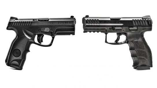 concealed carry, Steyr M40-A1, HK VP40