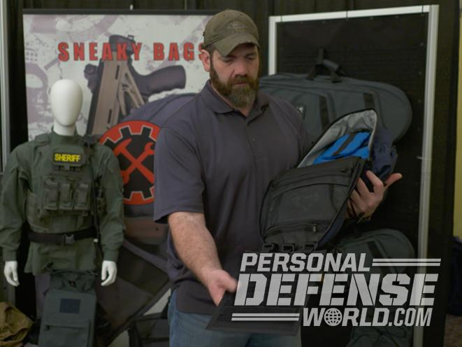 sneaky bags, sentinel pack, sneaky bags sentinel pack, concealed carry bag, concealed carry gun, handguns