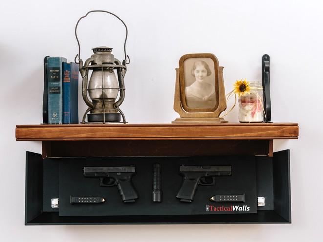 safe, safes, gun safe, gun safes, TacticalWalls Concealment Shelves