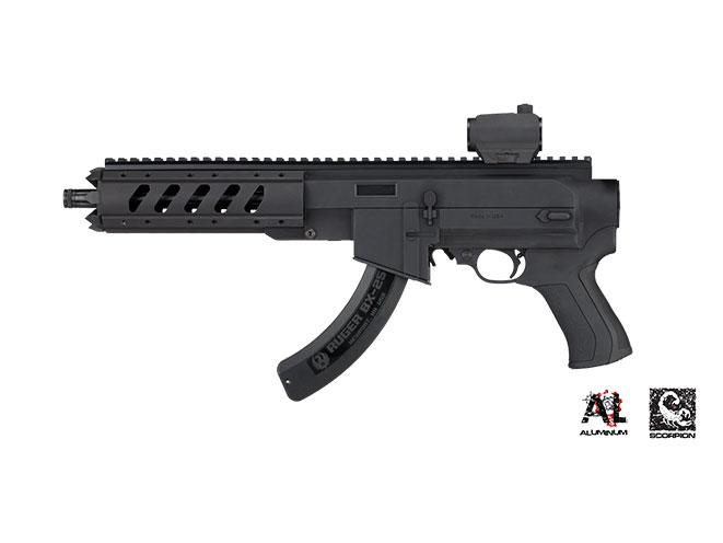 ruger charger, 22 charger, ruger 22 charger, ati ar-22 pistol stock, at-22 pistol stock, ruger takedown pistol