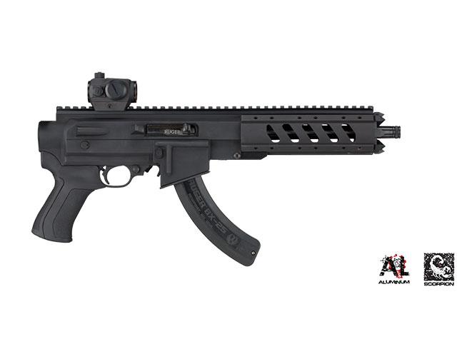 ruger charger, 22 charger, ruger 22 charger, ati ar-22 pistol stock, at-22 pistol stock, ruger pistol