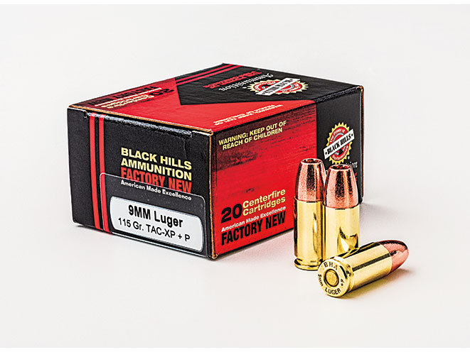 ammo, ammunition, 9mm round, 9mm rounds, self-defense, self defense, self defense ammo, self defense ammunition, black hills