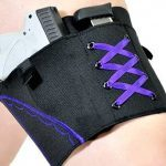 self defense, self-defense, women's self-defense, self-defense products, women's self-defense products, Can Can Concealment Garter Holster