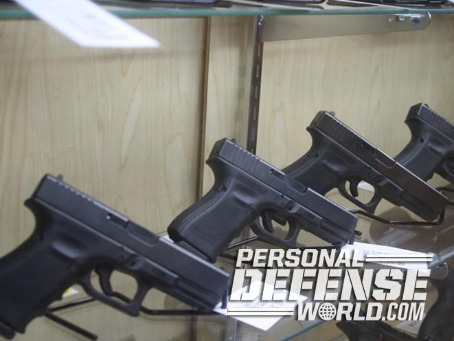 Colonial Shooting Academy, Colonial Shooting Academy range, Glock