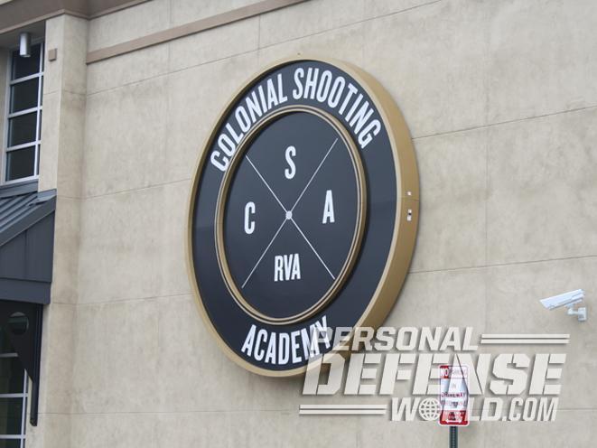 Colonial Shooting Academy, Colonial Shooting Academy range, indoor shooting range