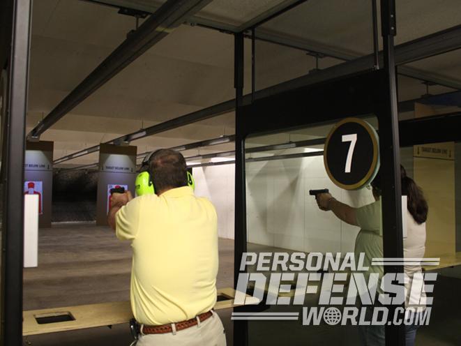 Colonial Shooting Academy, Colonial Shooting Academy range, shooting range