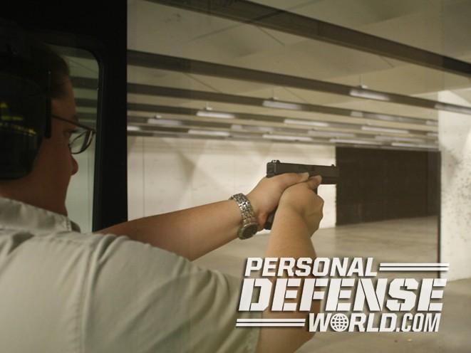 Colonial Shooting Academy, Colonial Shooting Academy range, pistol