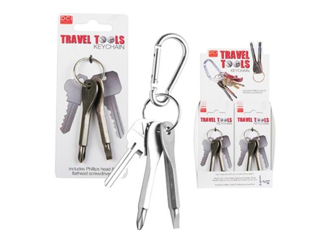 edc, everyday carry, everyday carry kit, edc kit, DCI Travel Tools Keychain