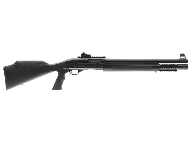 shotgun, shotguns, semi-auto shotguns, semi-auto shotgun, pump-action, pump-action shotgun, FN SLP Tactical