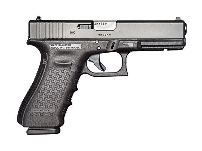 tol, glock pistols, glock 17, glock 17gen4, buffalo bill center of the west, cody firearms museum, glock 21, gun museum, glock 17 gen4 pistol