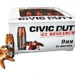 ammo, ammunition, 9mm round, 9mm rounds, self-defense, self defense, self defense ammo, self defense ammunition, g2 research