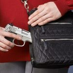 concealed carry products, Gun Tote'n Mamas, QMF-20 Cross Body Quilted Sac