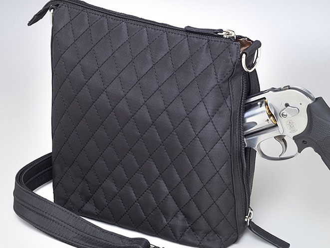 concealed carry products, Gun Tote'n Mamas, QMF-20 Cross Body Quilted Sac, Gun Tote'n Mamas GTM/QMF-20 Cross Body Quilted Sac, concealed carry purse