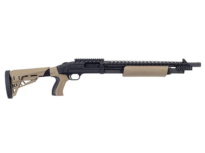 shotgun, shotguns, semi-auto shotguns, semi-auto shotgun, pump-action, pump-action shotgun, Mossberg ATI Scorpion