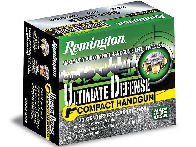 ammo, ammunition, 9mm round, 9mm rounds, self-defense, self defense, self defense ammo, self defense ammunition, remington