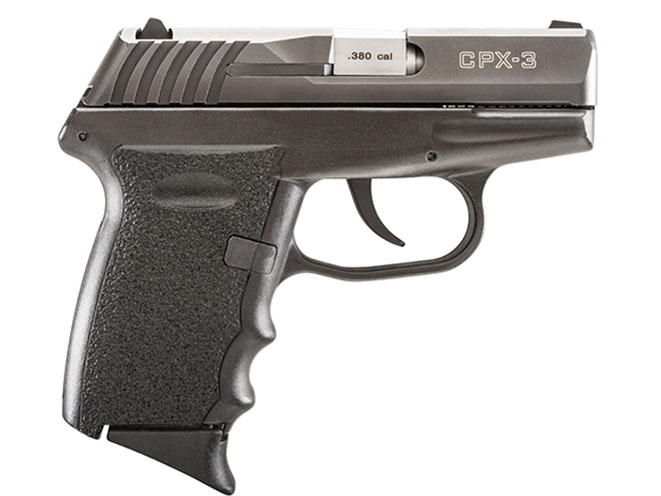 pistol, pistols, subcompact pistol, subcompact pistols, SCCY CPX-3