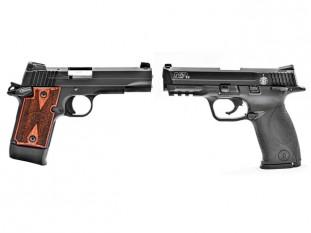 pistols, pistol, concealed carry, sig sauer, sig sauer p938-22 target, p938-22 target, sig p938-22 target, s&w m&p22, m&p22, smith & wesson m&p22
